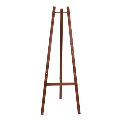 Lavagna Cavalletto in legno mogano h 165 cm marrone 11.5x168.5 cm