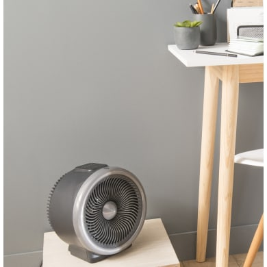 2 in 1 termoventilatore EQUATION nero 2000 W