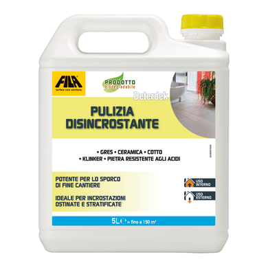 Detergente Pulizia disincrostante Deterdek FILA 5000 ml