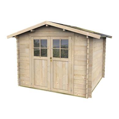 Casetta da giardino in legno Bologna 5.48 m² spessore 28 mm