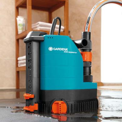 Pompa di evacuazione acque chiare GARDENA 9000 Aquasensor 320 W 9000  l/h