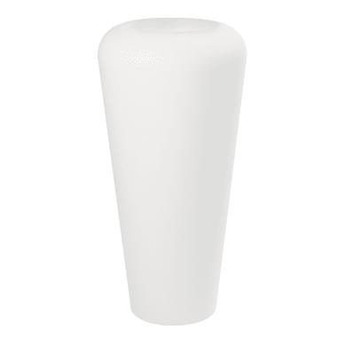 Vaso in plastica colore bianco H 80 cm, Ø 51 cm