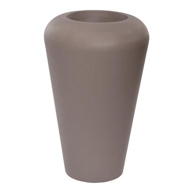 Vaso in plastica colore grigio H 105 cm, Ø 50 cm