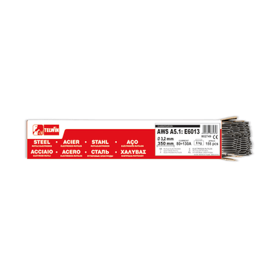 155 elettrodi rutilo Ø 3.2 mm
