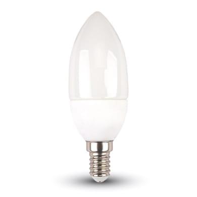 Lampadina LED, E14, Oliva, Opaco, RGB, 3.5W=320LM (equiv 25 W), 200°