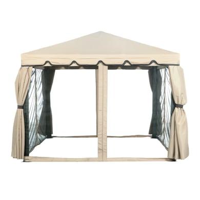 Tenda Lusso 3x3 beige L 300 x H 300 cm