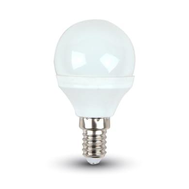 Lampadina LED, E14, Sferico, Opaco, Luce naturale, 4W=320LM (equiv 25 W), 180°