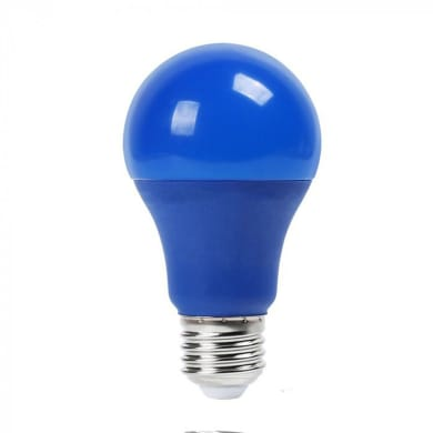 Lampadina decorativa LED, E27, Goccia, Blu, Luce calda, 9W=806LM (equiv 60 W), 200°