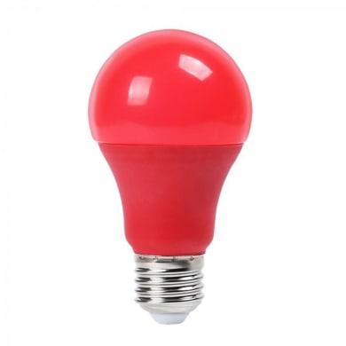 Lampadina decorativa LED, E27, Goccia, Rosso, Luce calda, 9W=806LM (equiv 60 W), 200°
