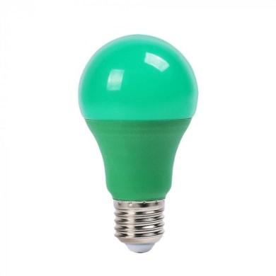 Lampadina decorativa LED, E27, Goccia, Verde, Luce calda, 9W=806LM (equiv 60 W), 200°