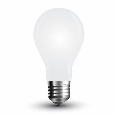 Lampadina LED filamento, E27, Goccia, Opaco, Luce naturale, 4W=350LM (equiv 25 W), 300°