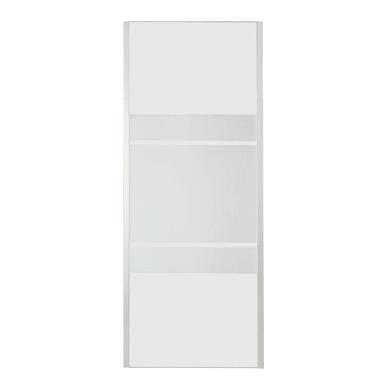 Lato fisso Sinque 70 cm, H 190 cm in vetro temprato, spessore 5 mm serigrafato satinato