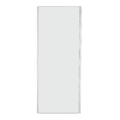 Lato fisso Sinque 70 cm, H 190 cm in vetro temprato, spessore 5 mm trasparente bianco