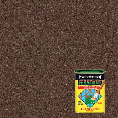 Smalto  antiruggine SARATOGA Fernovus marrone rinascimento 0.75 L