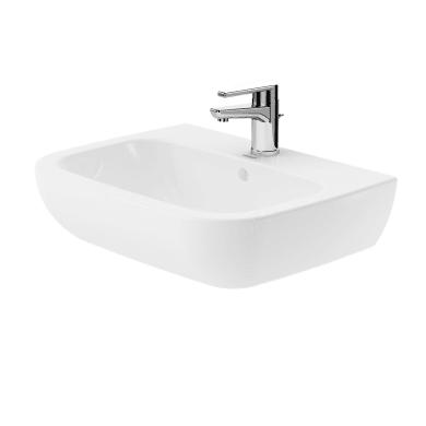 Lavabo L 60 x P 46 cm in ceramica bianco