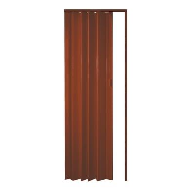 Porta pieghevole Rio in pvc arancio / ramato L 83 x H 214 cm