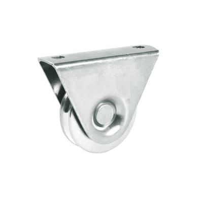 Ruota in acciaio x H 8 cm