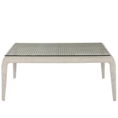 Tavolo da giardino rettangolare Voyage con piano in plastica L 108 x P 190 cm