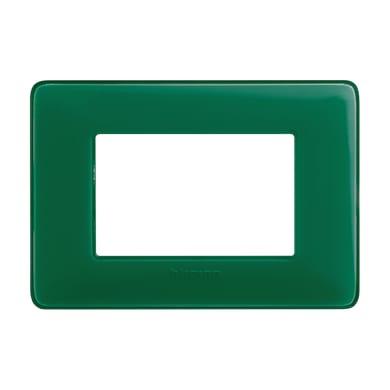 Placca BTICINO Matix 3 moduli smeraldo