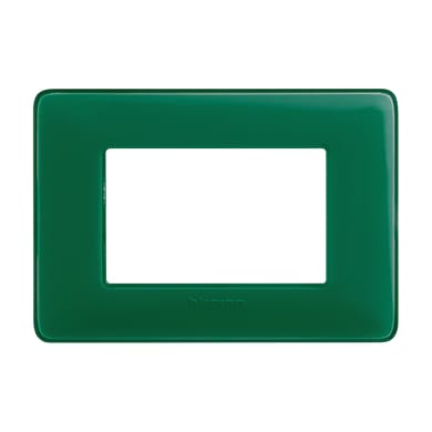 Placca Matix BTICINO 3 moduli smeraldo