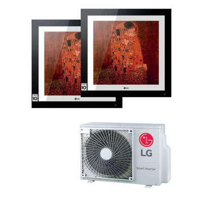 Climatizzatore dualsplit LG Artcool Gallery 12000 BTU classe A++