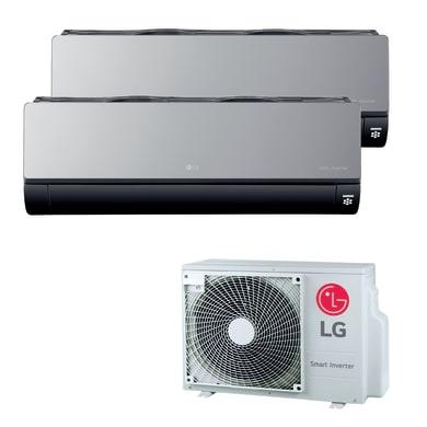 Climatizzatore dualsplit LG Artcool Mirror 9000 BTU classe A+++