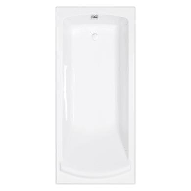 Vasca rettangolare Plaza bianco 80 x 180 cm