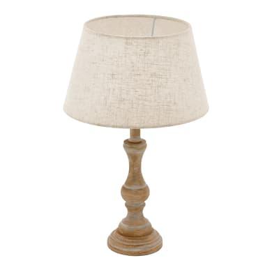 Lampada da tavolo Shabby Laplet bianco , in metallo, EGLO