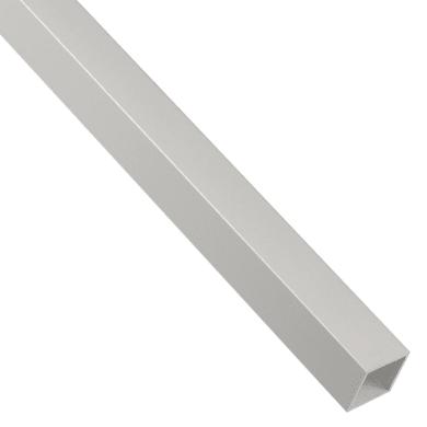 Profilo tubo quadrato STANDERS in alluminio 2.6 m x 1.6 cm grigio