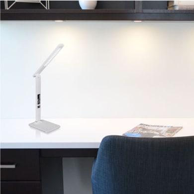 Lampada da scrivania Moderno Tanna bianco