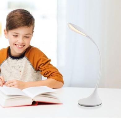 Lampada da scrivania Design Shannon bianco , in metallo