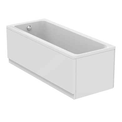 Vasca e pannello piatto Flower Air 170 x 70 cm bianco IDEAL STANDARD