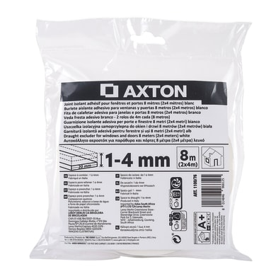 Guarnizione adesivo AXTON STIK bianco