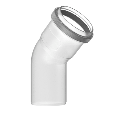 Curva coassiale 45° FC-SE60-45