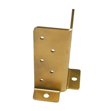 Supporto per palo Angolare in acciaio L 6x H 16.5