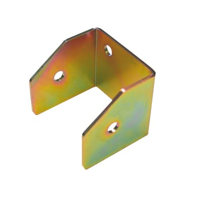 Supporto per palo Staffa in acciaio L 9x H 8