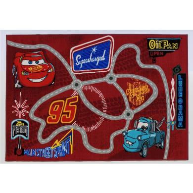 Tappeto Cars Adventure , rosso, 100x170 cm