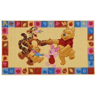 Tappeto Winnie & F , giallo, 100x170 cm
