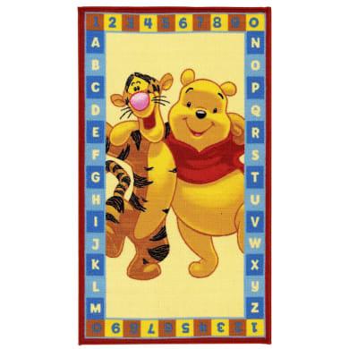 Tappeto Winnie ABC , giallo, 80x140
