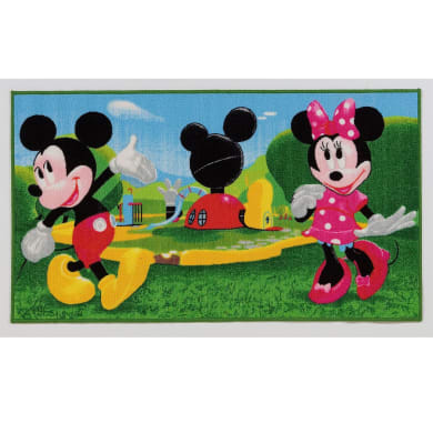 Tappeto Mickey CLUB , multicolor, 80x140 cm