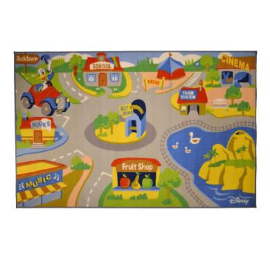 Tappeto Mickey Street , multicolor, 133x200