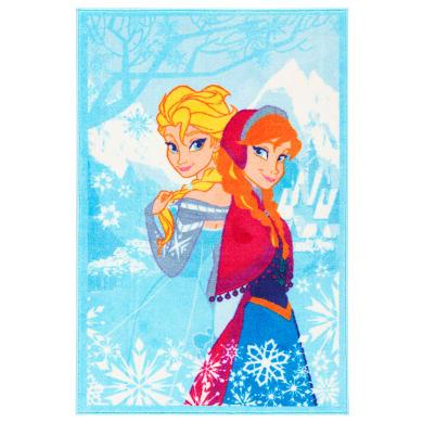 Tappeto Frozen , azzurro, 80x140 cm
