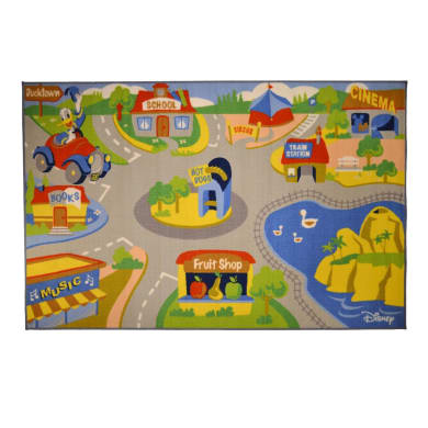 Tappeto Mickey Play rug , multicolor, 100x170