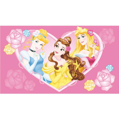 Tappeto Princes Pink , rosa, 80x120 cm