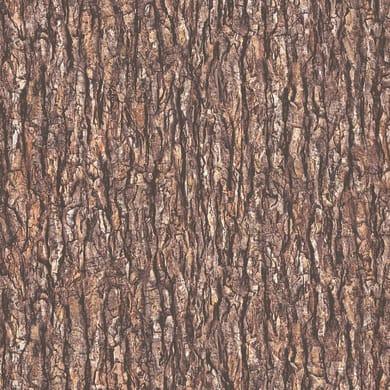 Carta da parati Corteccia marrone, 53 cm x 10 m