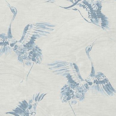 Carta da parati Birds blu