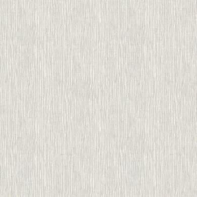 Carta da parati Chic tessile grigio chiaro