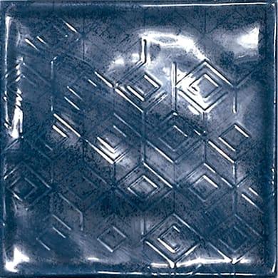 Piastrella Chic Marino 15 x 15 cm sp. 7 mm blu