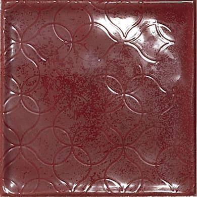Piastrella Chic Carmin 15 x 15 cm sp. 7 mm rosso