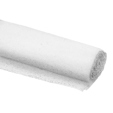 Telo feltro DEXTER Feltro bianco antiscivolo 1 X 0.11 m bianco
